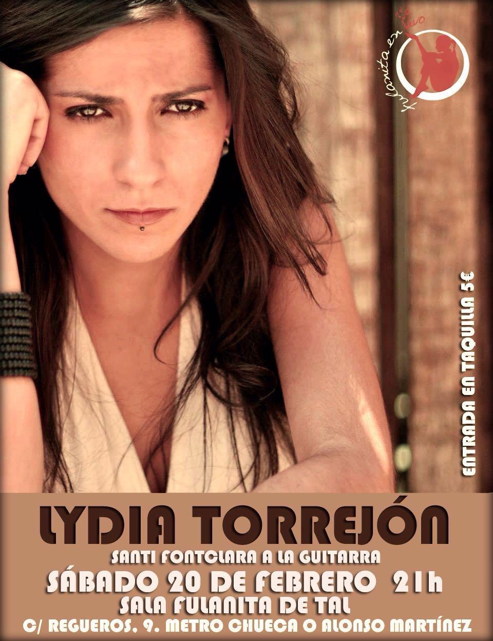 Concierto Madrid Lydia Torrejon